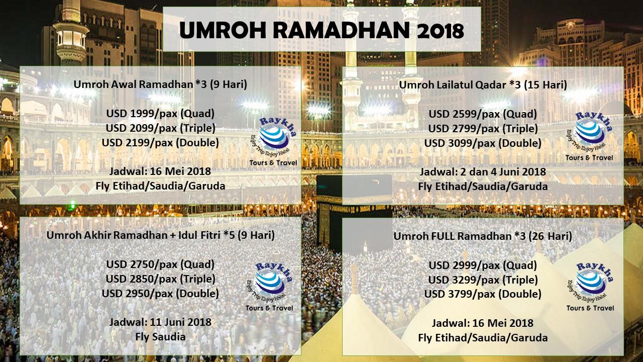 Banner Umroh Ramadhan Raykha Tour