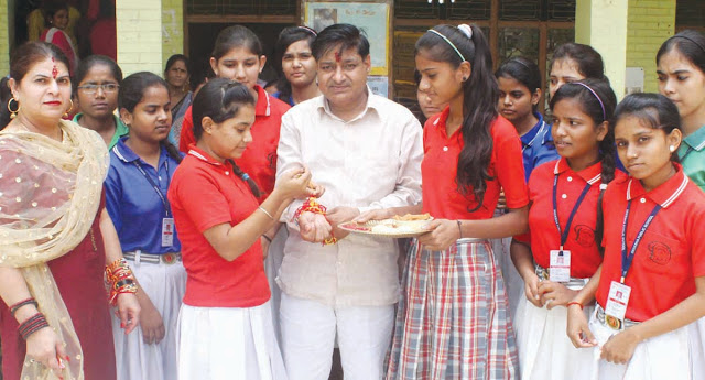 diksha-public-school-celebration-raksha-bandhan-faridabad