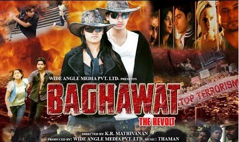 Baghawat The Revolt 2014 Hindi Dubbed WebRip 700mb