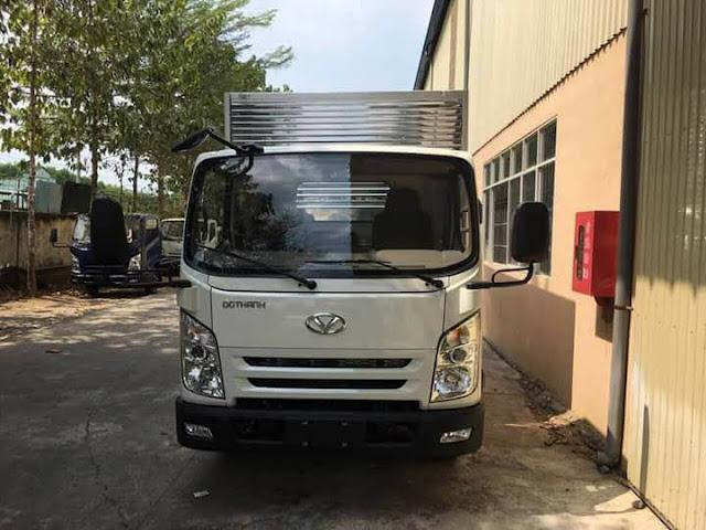 Xe tải 2.5 tấn Đô Thành IZ65 thùng kín