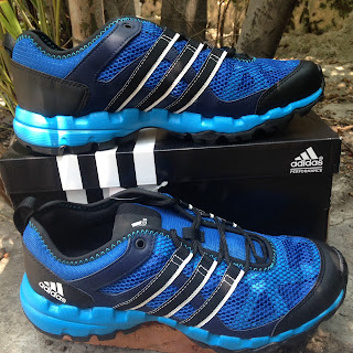 Sepatu Adventure Adidas Sport Hikers Power M18549 Blue/Black Original