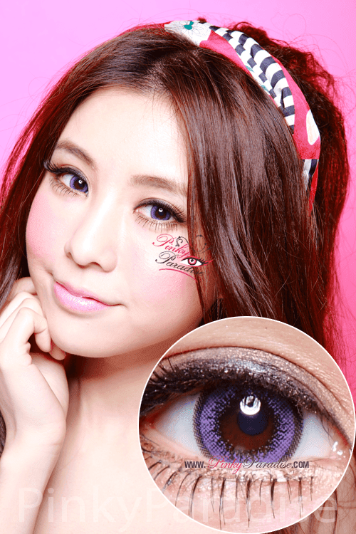 Geo Violet Wing Circle Lenses (Colored Contacts)