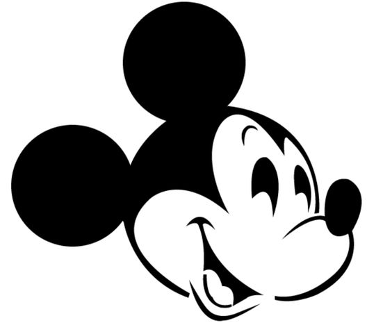 It is a graphic of Enterprising Mickey Mouse Pumpkin Stencils Printable