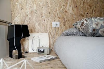 Micro apartamento em estilo industrial (30 m2)
