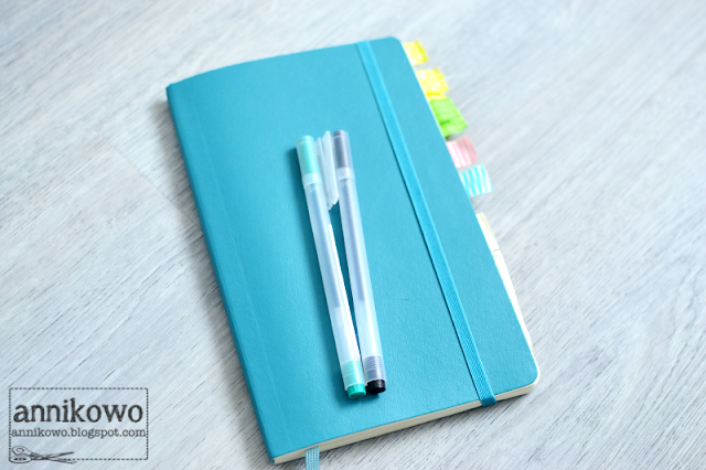 bullet journal moleskine Annikowo