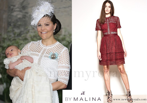 Crown-Princess Victoria wore By Malina Emily Midi Dress
