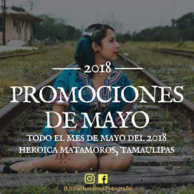 PROMOCIONES MES DE MAYO
