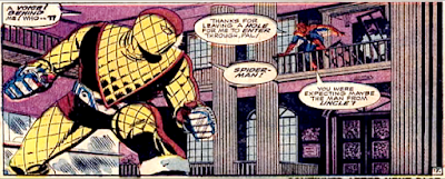 Amazing Spider-Man #46, John Romita, Spidey confronts the Shocker at the federal bank