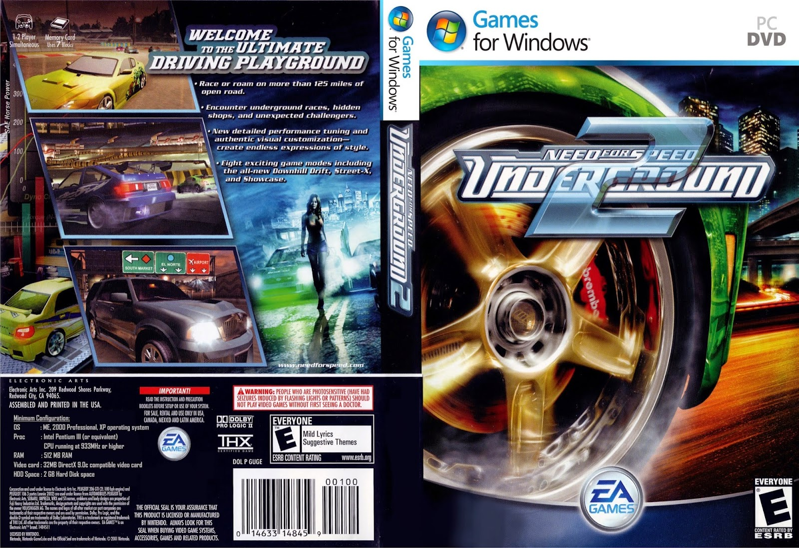 Need for Speed: Underground 2 [Compressed: 230MB] - Blog-Hafid25