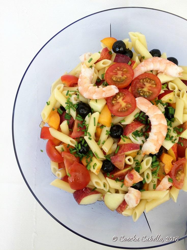 ensalada-pasta-fruta