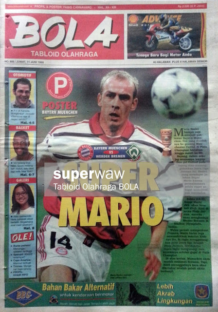 Tabloid BOLA: SUPER MARIO