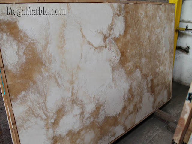 Cappuccino Onyx slabs for countertops