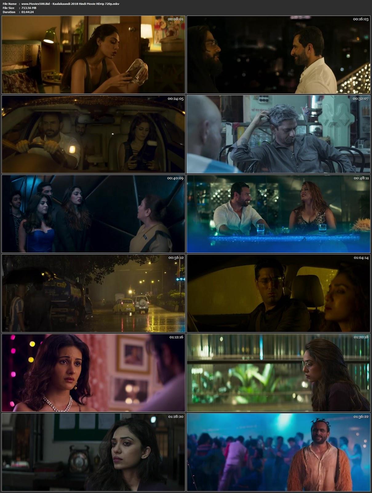 Kaalakaandi 2018 Hindi Full Movie HDRip 720p