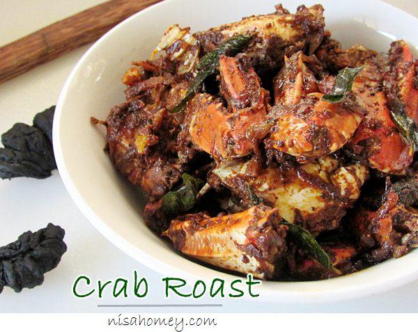 Njandu Crab Roast Recipe