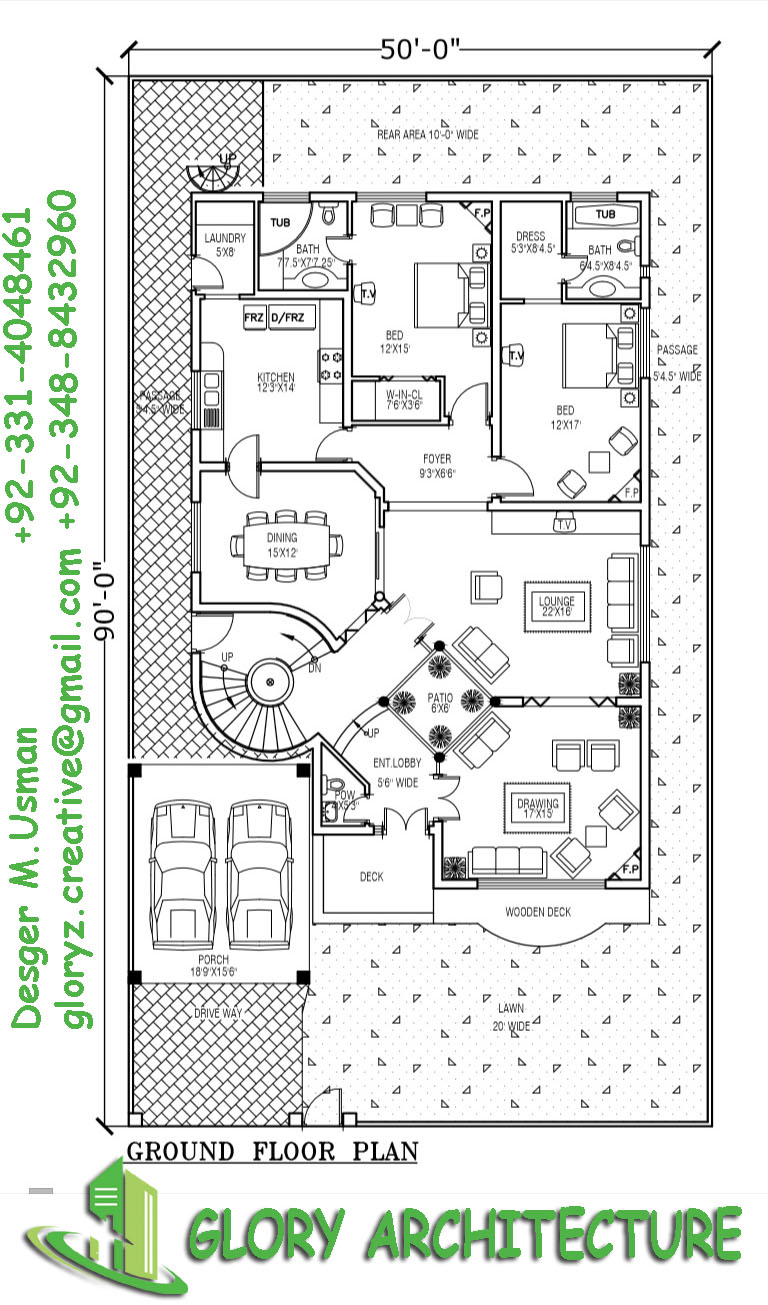 Islamabad Co Operative Housing Society Drawings And Map F 15 House 16