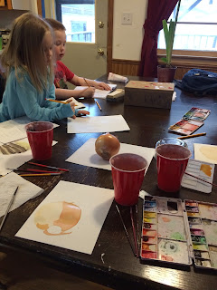Using art to teach science in the Charlotte Mason homeschool.