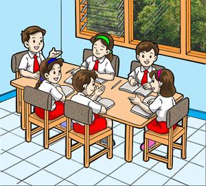 Mirzan Blog S 30 Ide Keren Contoh Gambar Kartun Pengamalan Pancasila Sila Ke 4