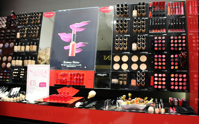 Giorgio armani beauty makeup