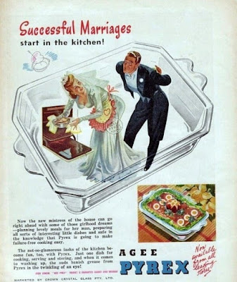 Successful marriages start in the kitchen!