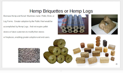 Biomass Hemp and Kenaf machines make Pellet,Brick, or Log Forms