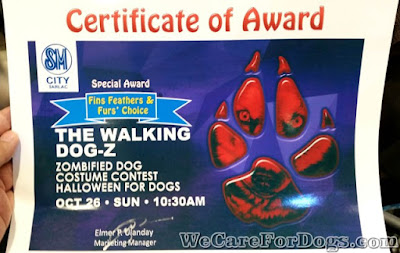 Walking Dog-Z Special Award for Mhershey - SM Tarlac