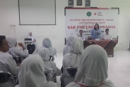PAB KSR, Relawan PMI Memiliki Keunggulan Tersendiri