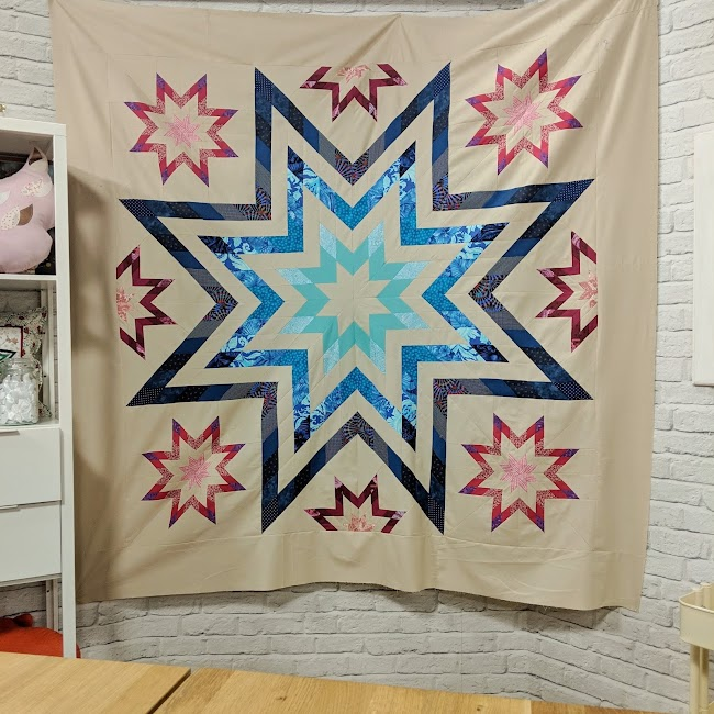 Paris Star quilt
