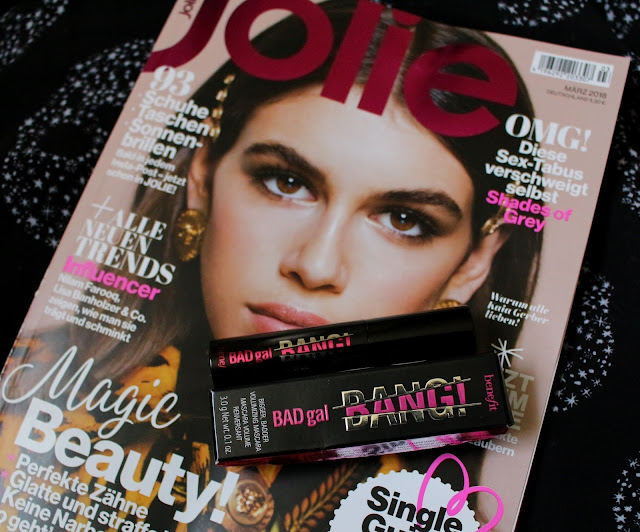 Kauftipp - Jolie mit gratis Mini Benefit BadGal BANG! Mascara
