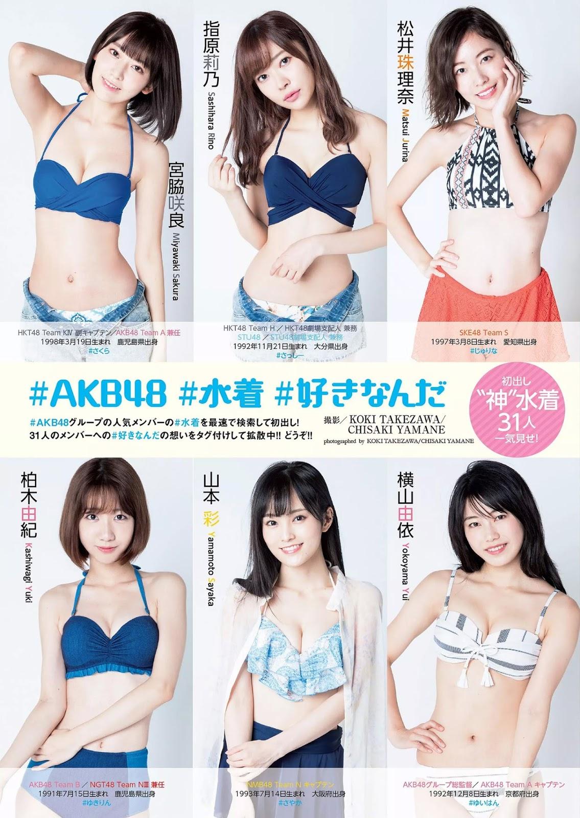 AKB48, Weekly Playboy 2017 No.46 (週刊プレイボーイ 2017年46号