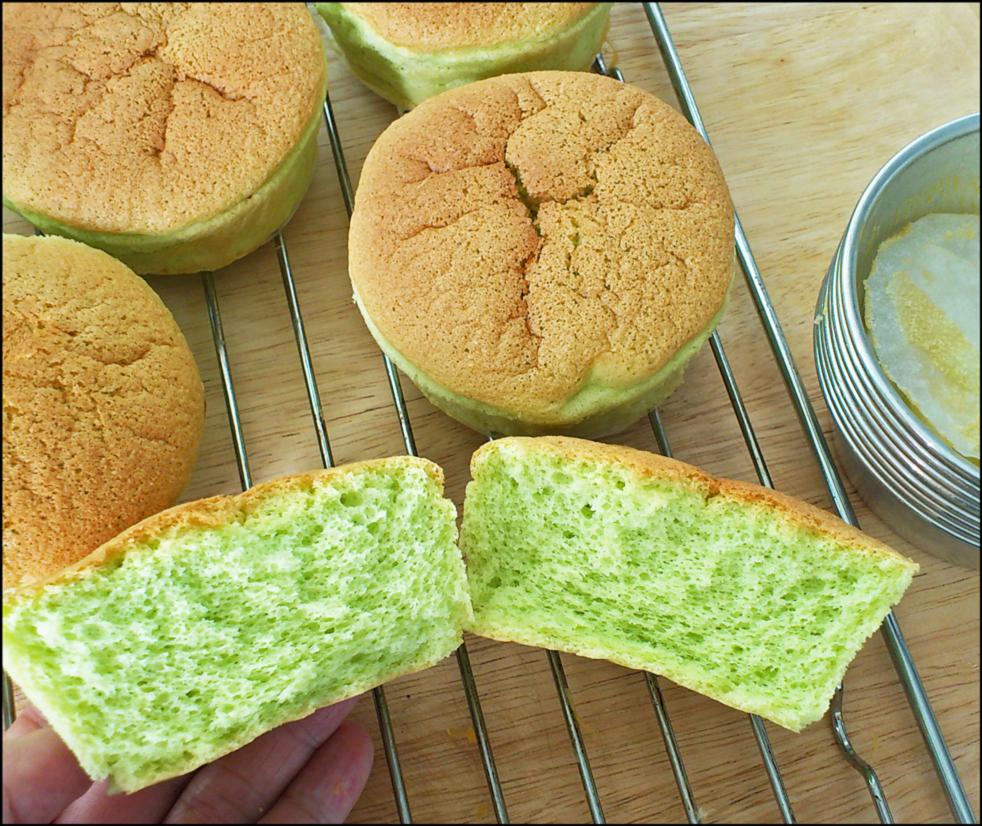 Pandan Chiffon Cake Recipe Kitchentigress