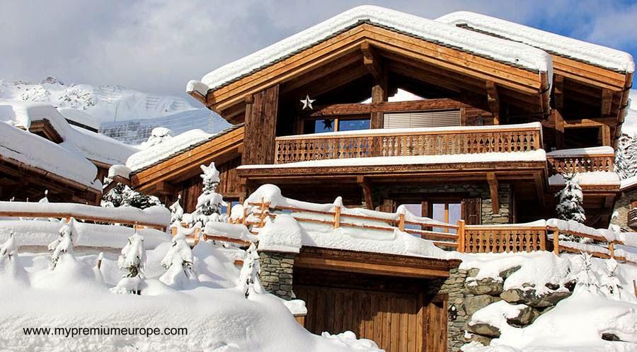 Chalet de madera moderno con aspecto tradicional en Verbier, Suiza