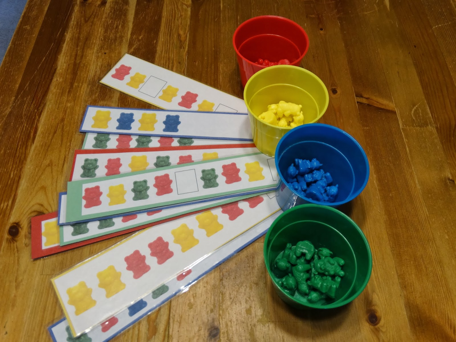Miles Busy Bags Pre School Math Bear Patterns