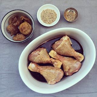 poulet figues sésame