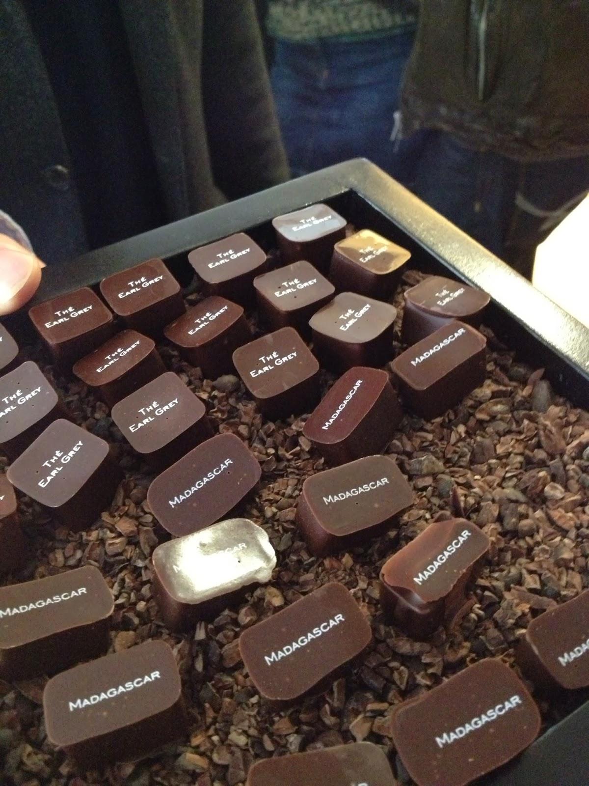 Brussels - Earl Grey and Madagascar chocolates