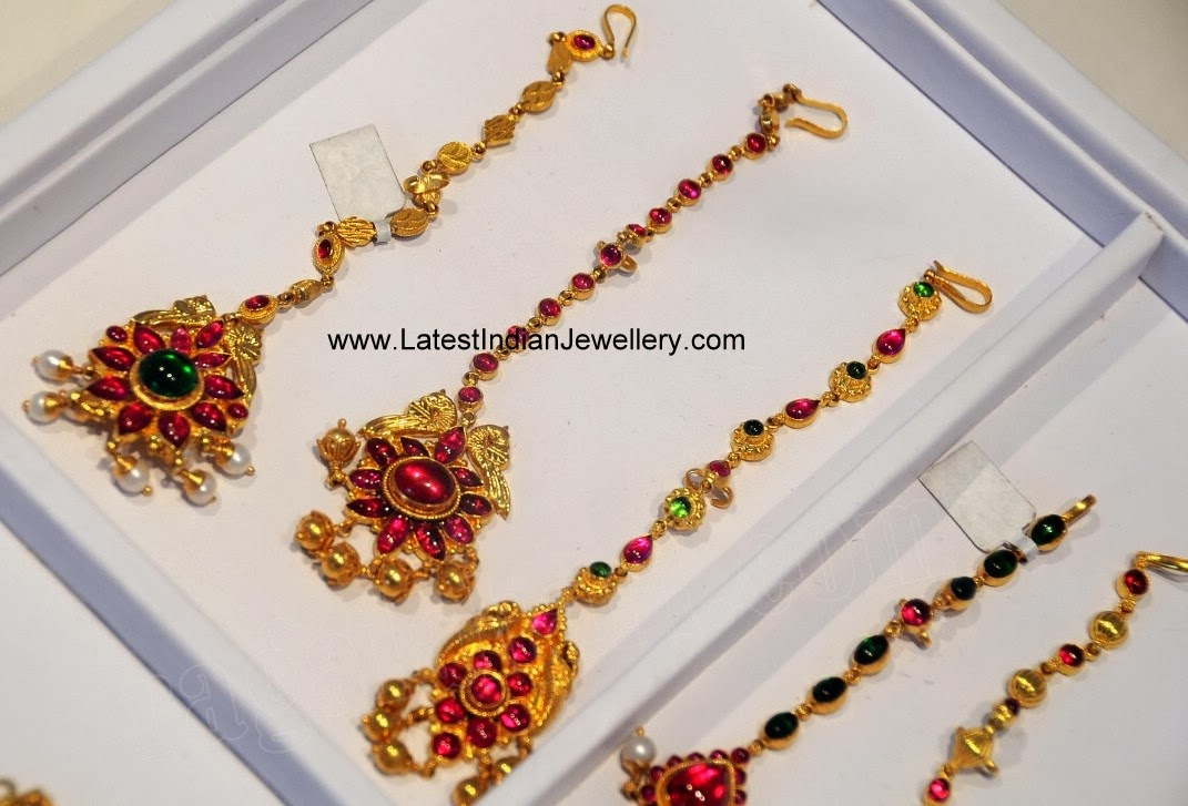 gold ruby-papidi billa designs