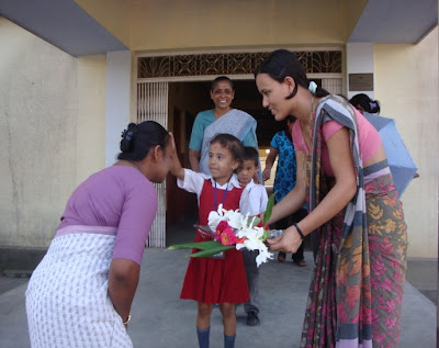 Sister Sushma Arrives in Surkhet