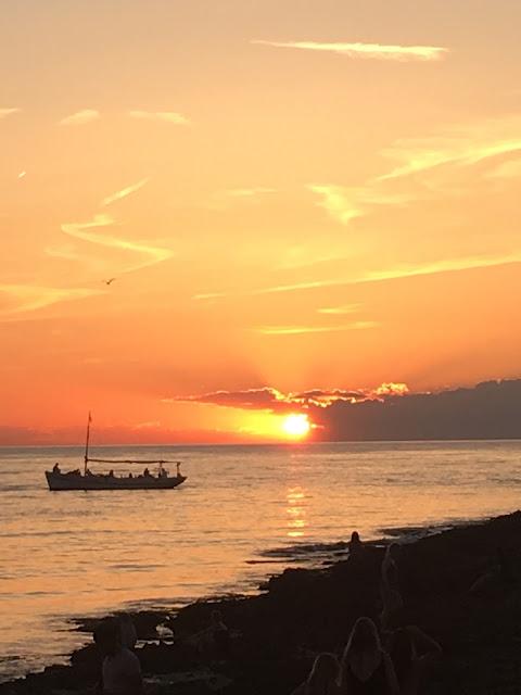 Ibiza sunset in San Antonio
