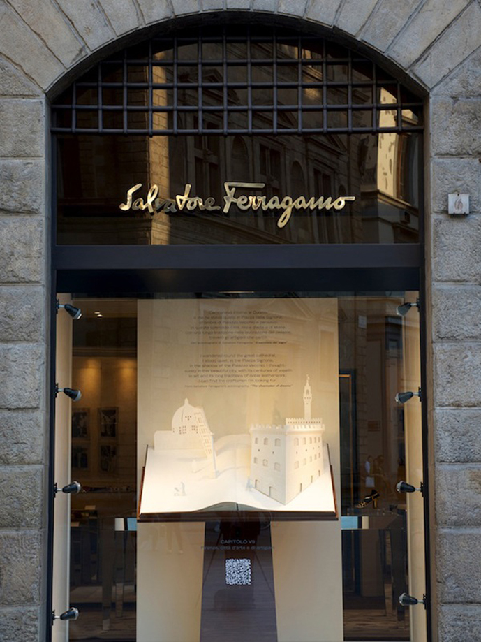 Salvatore Ferragamo boutique
