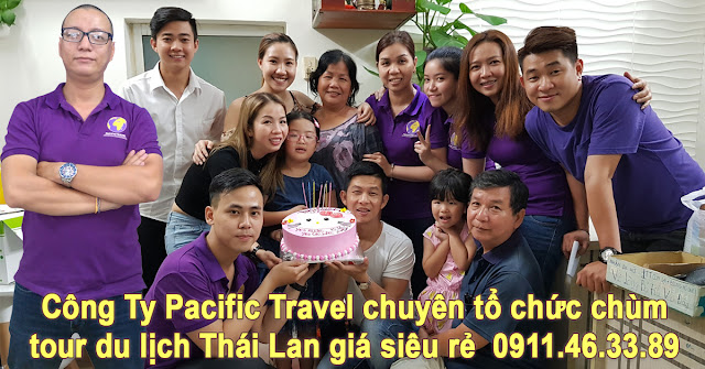 Pacific Travel company specializing in organizing Thai tour beam super cheap price