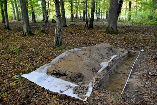 Well preserved 2,000 year old settlement found hidden under dense forest in northern Poland