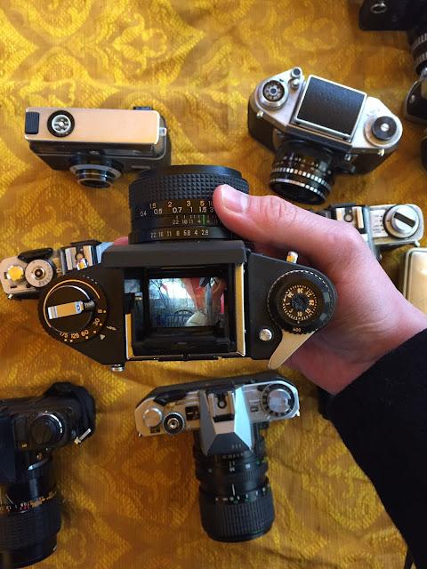 Cameras at Mauerpark Flohmarkt