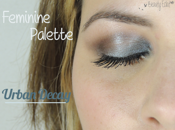 tutoriel maquillage feminine palette urban decay