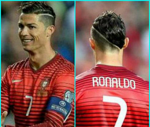 The Real Men Show Top 5 Outstanding Footballers Hairstyles