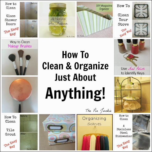 How to Clean and Organize Anything