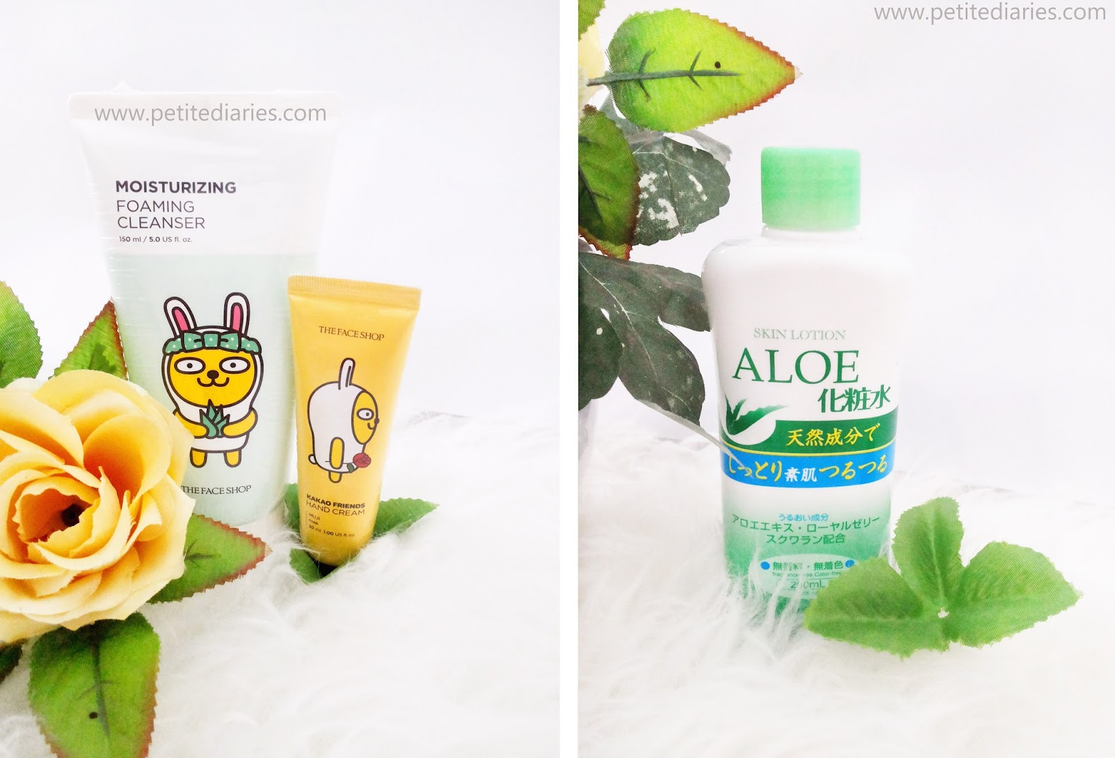 the faceshop kakao muzi haul skincare