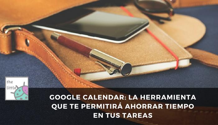 herramienta google calendar