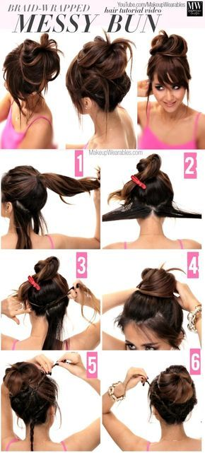 simple way to make perfect hairstyle