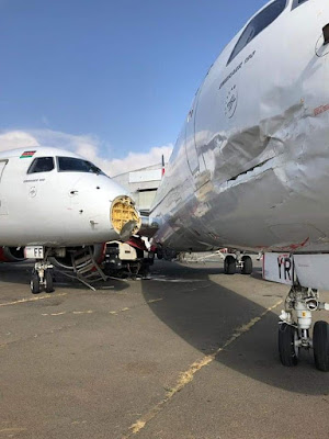 Two Embraer Planes Collided at JKIA