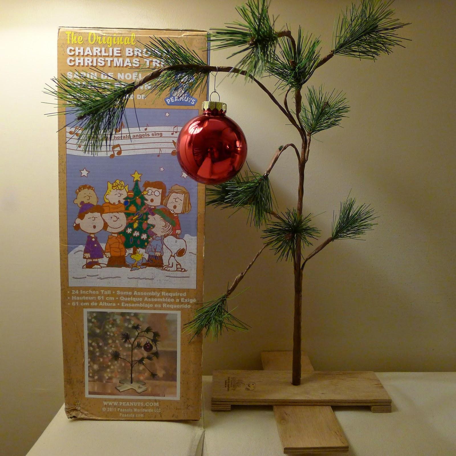 Our Charlie Brown Christmas Tree | Tina Villa