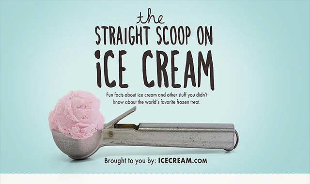 The straight scoop on ice cream